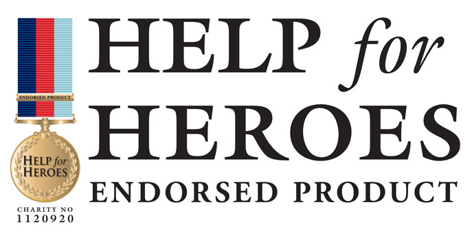Help For Heroes Endorsed Product